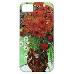 Van Gogh Red Poppies & Daisies Fine Art iPhone 5 Cases