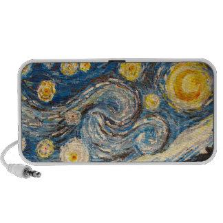 Van Gogh repaint Starry Night pattern Speaker