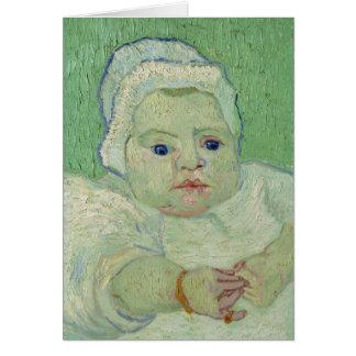 Van Gogh | Roulin's Baby| 1888 Card
