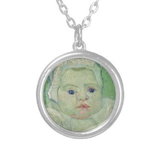 Van Gogh | Roulin's Baby| 1888 Round Pendant Necklace