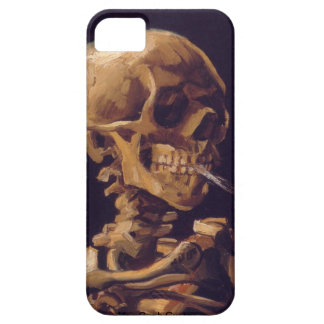 Van Gogh s Skull With a Burning Cigarette iPhone 5 iPhone 5 Covers