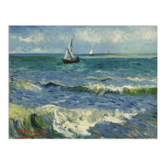 Van Gogh Seascape Post Card