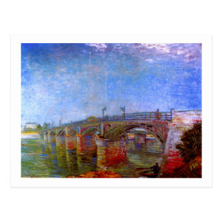 Van Gogh Seine Bridge at Asnières (F240) Postcard