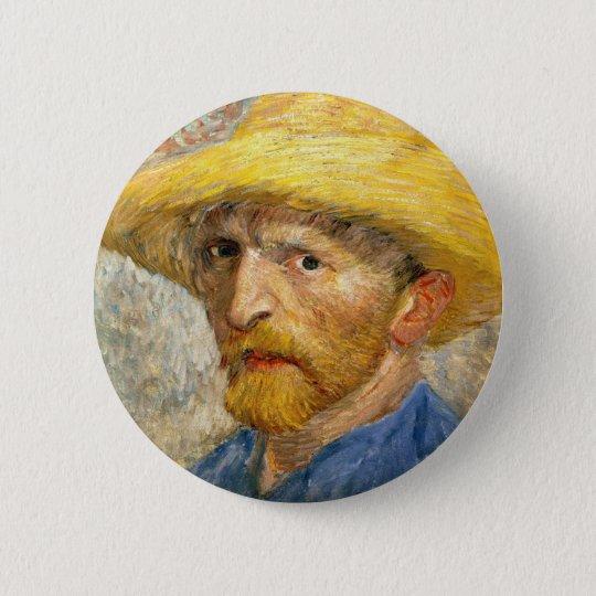 Van Gogh - Self-Portrait 6 Cm Round Badge