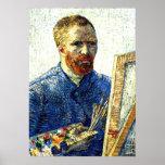 Van Gogh - Self Portrait as a Painter Poster