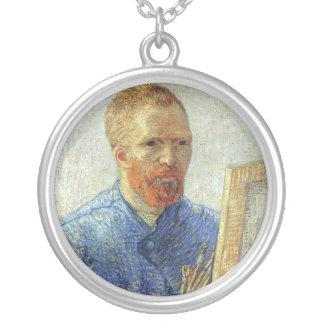 Van Gogh Self Portrait Necklaces