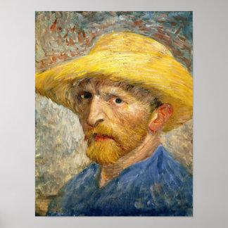 Van Gogh - Self Portrait Poster
