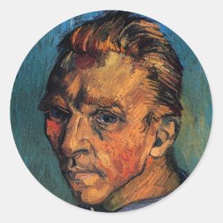 Van Gogh Self Portrait Sticker