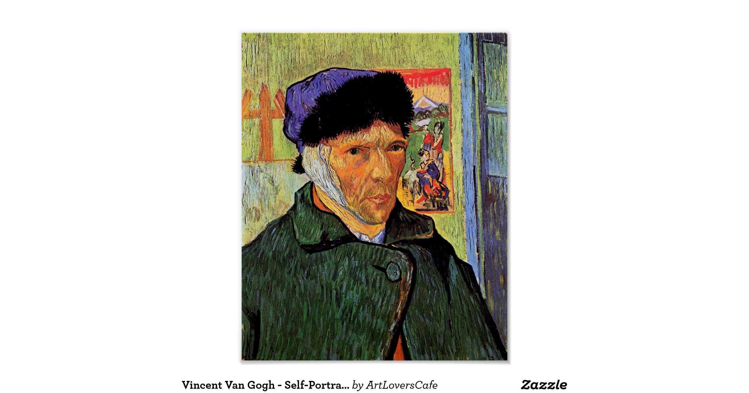 a review of vincent van gogh self portrait Self-portrait with bandaged ear and pipe replica on canvas vincent van gogh undoubtedly remains holland's most celebrated dutch painter, and we pride ourselves on creating and sourcing some of the most genuine reproductions of his stunning work.