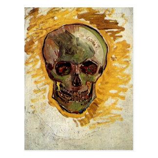 Van Gogh Skull Still Life (F297a) Fine Art Postcard