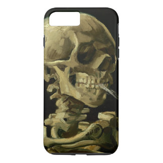 Van Gogh | Skull with Burning Cigarette | 1886 iPhone 8 Plus/7 Plus Case