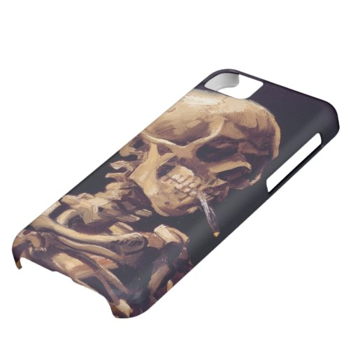 Van Gogh Skull with Burning Cigarette iPhone 5C Cover