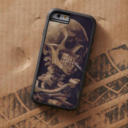 Van Gogh Skull with Burning Cigarette iPhone 6 Case