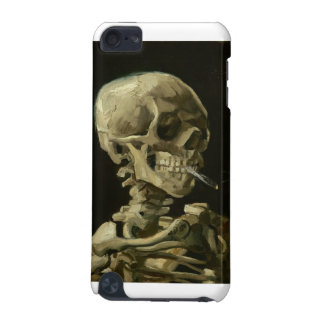 Van Gogh - Skull with Burning Cigarette iPod Touch (5th Generation) Case
