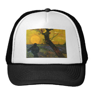 Van Gogh Sower With Setting Sun Hat