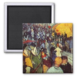 Van Gogh Spectators in Arena at Arles F548 Magnets