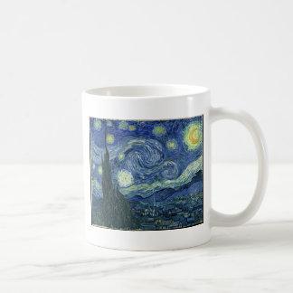 Van  Gogh Starry Night Basic White Mug