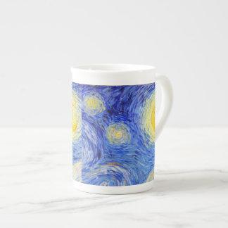 """Van Gogh, """"Starry Night"""" Bone China Mug"""