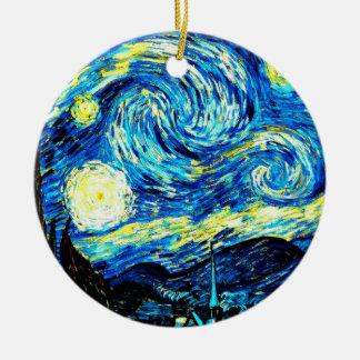 Van Gogh: Starry Night Christmas Ornament