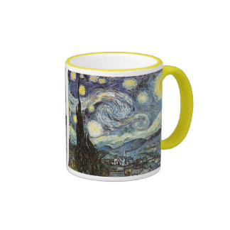 Van Gogh Starry Night (F612) Vintage Fine Art Coffee Mug