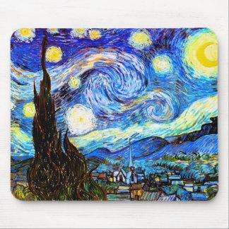 Van Gogh Starry Night Fine Art Mouse Pad