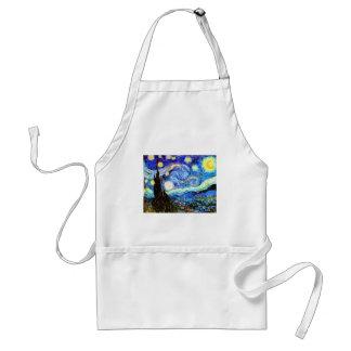 Van Gogh Starry Night Fine Art Standard Apron