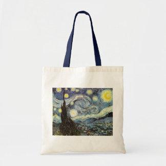 Van Gogh Starry Night Fine Art Tote Bag
