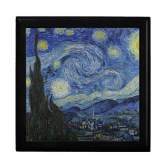 "Van Gogh ""Starry Night"" Gift Box Keepsake Jewelry"