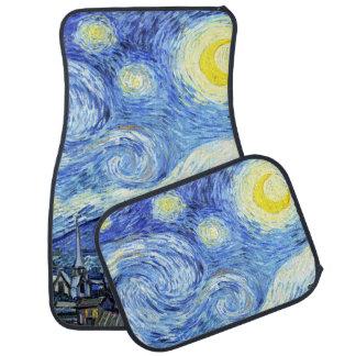 Van Gogh Starry Night Impressionism Car Floor Mats