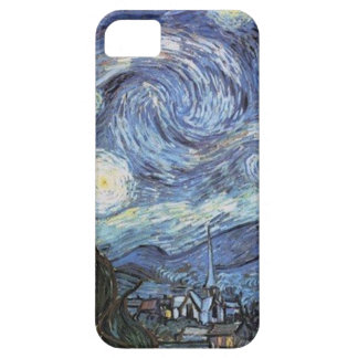 Van Gogh Starry Night Impressionist Painting iPhone 5 Case
