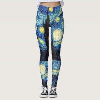 Van Gogh Starry Night Leggings