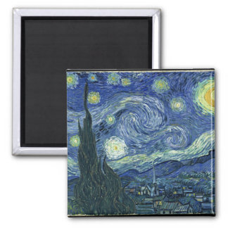 Van  Gogh Starry Night Magnet