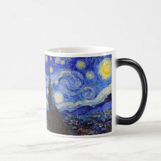 """Van Gogh, """"Starry Night"""" Morphing Mug"""