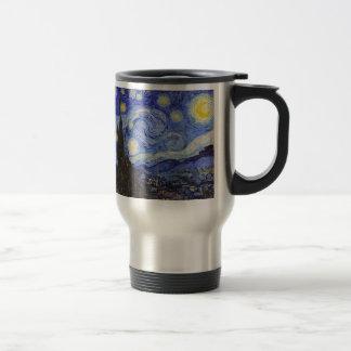 "Van Gogh, ""Starry Night"" Stainless Steel Travel Mug"
