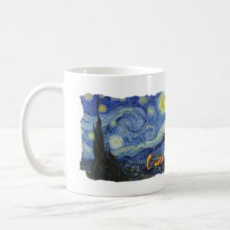 Van Gogh * Starry Night Basic White Mug