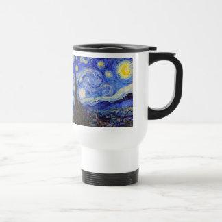 "Van Gogh, ""Starry Night"" 15 Oz Stainless Steel Travel Mug"