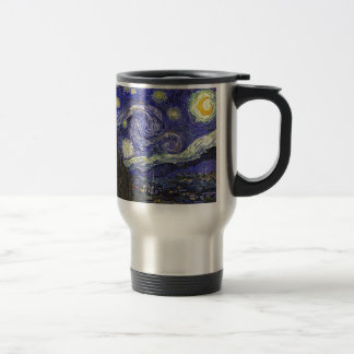 Van Gogh Starry Night 15 Oz Stainless Steel Travel Mug