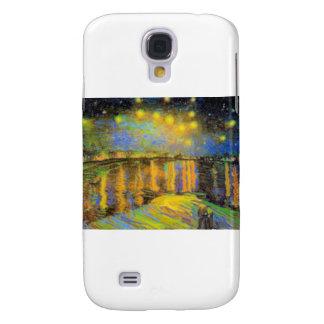 Van Gogh - Starry Night On The Rhone Galaxy S4 Cover