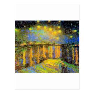 Van Gogh - Starry Night On The Rhone Postcard