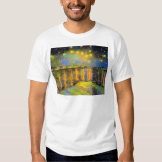Van Gogh - Starry Night On The Rhone Shirt
