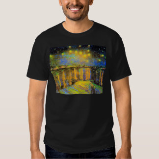Van Gogh - Starry Night On The Rhone Shirts