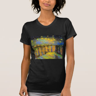 Van Gogh - Starry Night On The Rhone T-Shirt