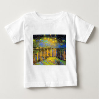 Van Gogh - Starry Night On The Rhone Tshirts
