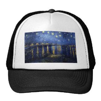 Van Gogh Starry Night Over Rhone Cap