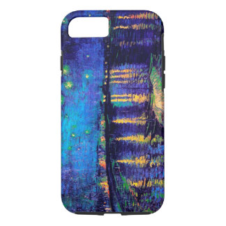 Van Gogh Starry Night Over Rhone  (F474) Fine Art iPhone 7 Case