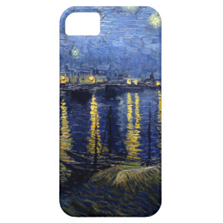 Van Gogh Starry Night Over Rhone iPhone 5 Cases