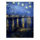 Van Gogh Starry Night Over Rhone Postcard