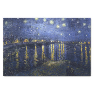 Van Gogh | Starry Night Over The Rhone | 1888 Tissue Paper