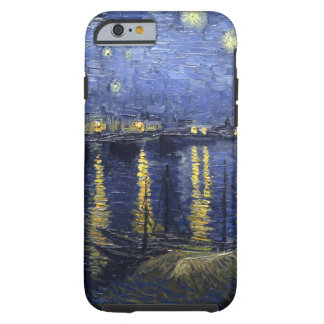 Van Gogh Starry Night Over The Rhone Tough iPhone 6 Case