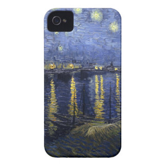 Van Gogh Starry Night Over The Rhone Case-Mate iPhone 4 Cases